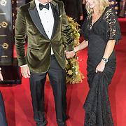 NLD/Amsterdam/20171012 - Televizier-ring Gala 2017, Johnny de Mol en zwangere partner Anouk van Schie