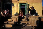 Late afternoon shadows, Jaisalmer, Rajasthan