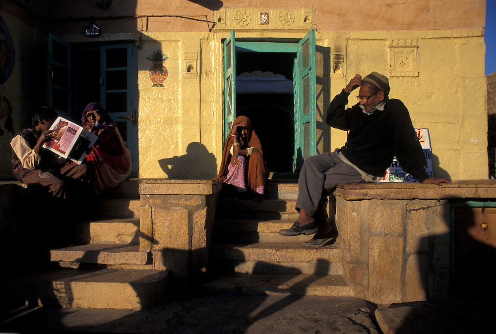 Late afternoon shadows, Jaisalmer, Rajasthan