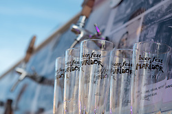 Main Square is hosting beer festival - Beer Fest in Maribor, Slovenia on 27th of September.  Photo by Milos Vujinovic / Sportida