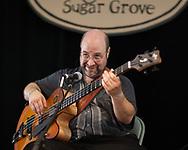 Joel Landsberg with The  Kruger Brothers Band at Sugar Grove NC