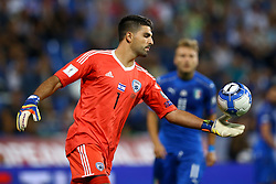 September 5, 2017 - Reggio Emilia, Italy - Omri Ben Harush of Israel during the FIFA World Cup 2018 qualification football match between Italy and Israel at Mapei Stadium in Reggio Emilia on September 5, 2017. (Credit Image: © Matteo Ciambelli/NurPhoto via ZUMA Press)
