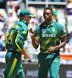 Cape Town-180207 South African cricket fast bowler playing his first ODI game for Proteas at Newlands.photograph:Phando Jikelo/African News Agency(ANA)