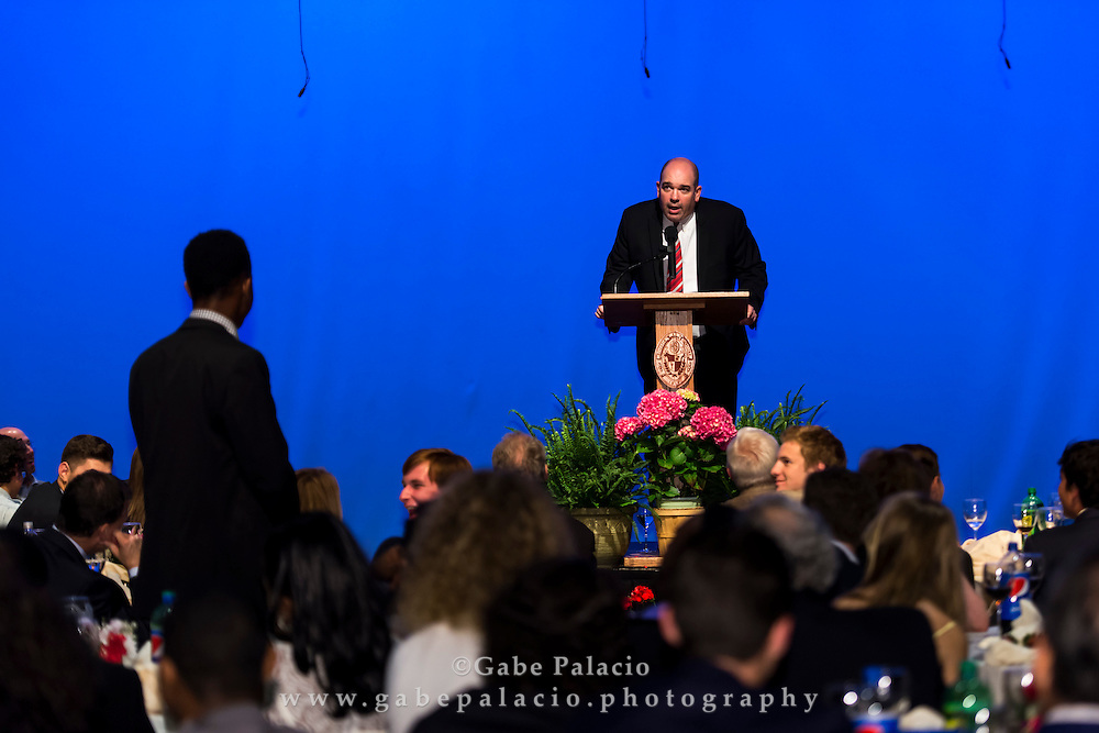 The Harvey School Commencement Dinner in the Walker Center for the Arts at the Harvey School on June 7, 2016. (photo by Gabe Palacio)