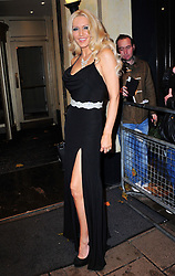Emma Noble attends the Amy Winehouse Foundation Ball, The Dorchester, London, United Kingdom, November 20, 2012. Photo By Nils Jorgensen / i-Images.