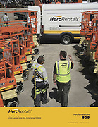HercRentals 2016 Annual Report Back Cover photographed by Industrial Photographer Thomas Winter
