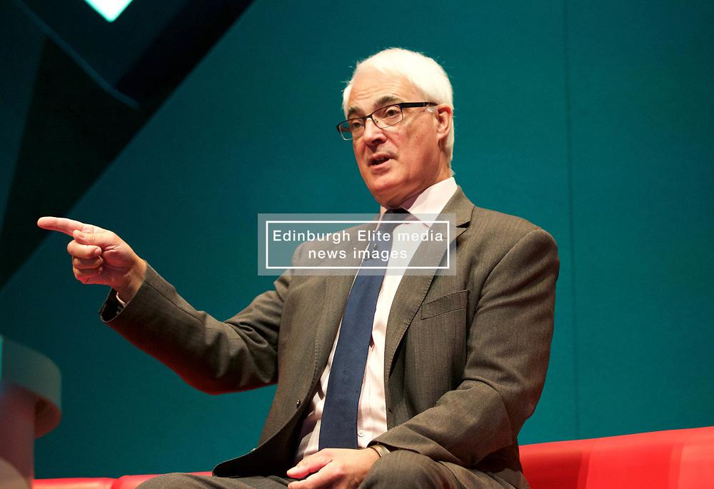 Alistair Darling at the Pensions and Lifetime Savings Association conference, EICC, Edinburgh. pic copyright Terry Murden @edinburghelitemedia