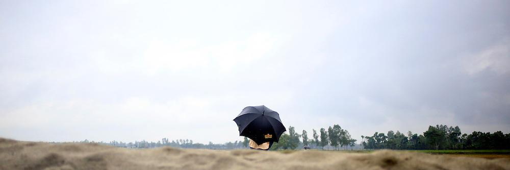 Monsoon day in the coutnryside in Dinajpur neibourhood, Bangladesh // Jour de mousson dans la campagne pres de Dinajpur, Bangladesh