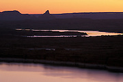 Lake Powell, view North at daybreak, Page, Arizona. ©2000 Edward McCain/McCain Creative, Inc. All Rights Reserved 520-623-1998