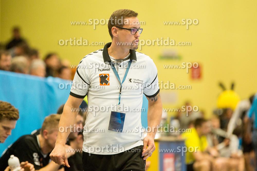 Peter Kukucka, head coach of Kadetten during handball match between RK Gorenje Velenje and Kadetten Schaffhausen in VELUX EHF Champions League, on November 25, 2017 in Rdeca Dvorana, Velenje, Slovenia. Photo by Ziga Zupan / Sportida