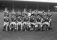 Limerick Hurling Team, Croke Park,<br /> circa April 1983 (Part of the Independent Newspapers Ireland/NLI Colection).