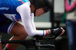 Ting Ting Chang (TPE) at UCI Road World Championships 2019 Elite Women's TT a 30.3 km individual time trial from Ripon to Harrogate, United Kingdom on September 24, 2019. Photo by Sean Robinson/velofocus.com