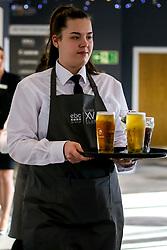 Worcester Warriors waitress - Mandatory by-line: Robbie Stephenson/JMP - 30/11/2019 - RUGBY - Sixways Stadium - Worcester, England - Worcester Warriors v Sale Sharks - Gallagher Premiership Rugby