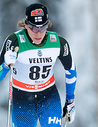 30.11.2014, Nordic Arena, Ruka, FIN, FIS Weltcup Langlauf, Kuusamo, 15 km Herren, im Bild Matias Strandvall (FIN) // Matias Strandvall of Finland during Mens 15 km Cross Country Race of FIS Nordic Combined World Cup at the Nordic Arena in Ruka, Finland on 2014/11/30. EXPA Pictures © 2014, PhotoCredit: EXPA/ JFK