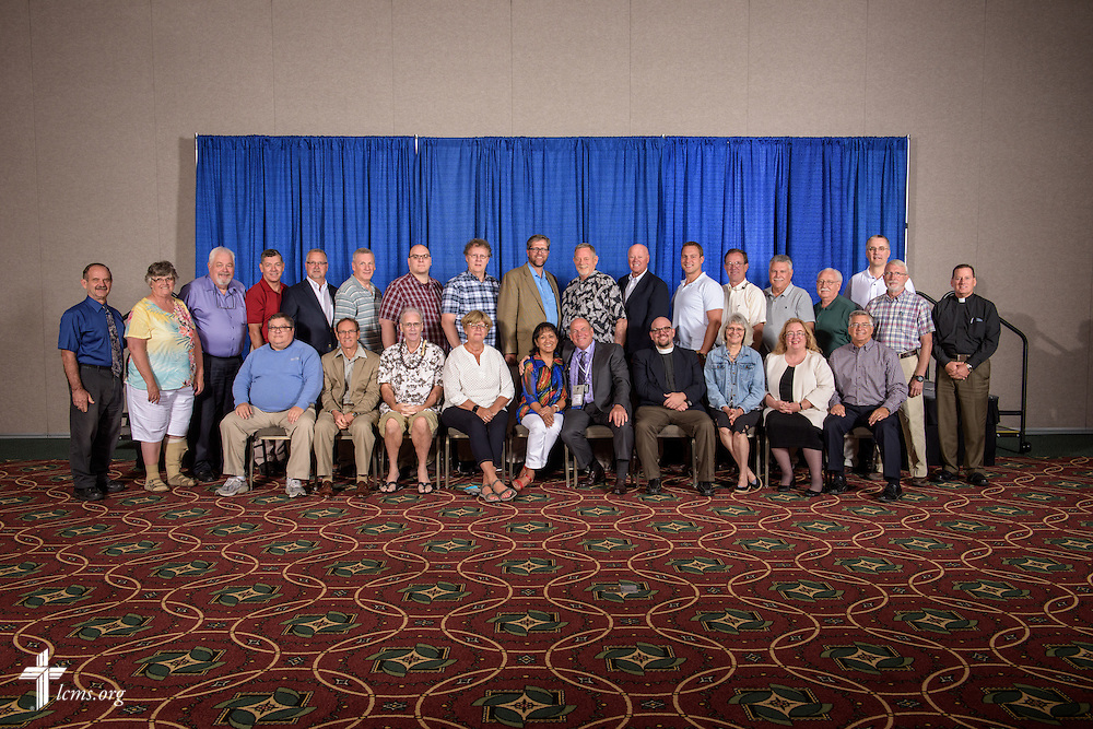 California-Nevada-Hawaii District group photograph on Tuesday, July 12, 2016, at the 66th Regular Convention of The Lutheran Church–Missouri Synod, in Milwaukee. LCMS/Frank Kohn