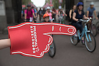 LONDON UK 30TH JULY 2016:  Prudential RideLondon Freecycle, The Mall.. The Prudential RideLondon FreeCycle event over closed roads around the city. Prudential RideLondon in London 30th July 2016.<br /> <br /> Photo: Eddie Keogh/Silverhub for Prudential RideLondon<br /> <br /> Prudential RideLondon is the world&rsquo;s greatest festival of cycling, involving 95,000+ cyclists &ndash; from Olympic champions to a free family fun ride - riding in events over closed roads in London and Surrey over the weekend of 29th to 31st July 2016. <br /> <br /> See www.PrudentialRideLondon.co.uk for more.<br /> <br /> For further information: media@londonmarathonevents.co.uk