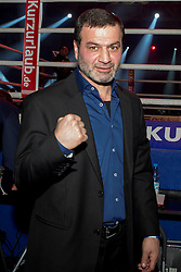 12.03.2016, Jahnsportforum, Neubrandenburg, GER, Boxgala, WBA Weltmeisterschaftskampf, im Bild v.l. Artur Gregorian // during the WBA Light Heavyweight World Championship Boxgala at the Jahnsportforum in Neubrandenburg, Germany on 2016/03/12. EXPA Pictures © 2016, PhotoCredit: EXPA/ Eibner-Pressefoto/ Koch<br /> <br /> *****ATTENTION - OUT of GER*****