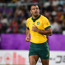 Kurtley BEALE of Australia during the Rugby World Cup 2019 Quarter Final match between England and Australia on October 19, 2019 in Oita, Japan. (Photo by Dave Winter/Icon Sport) - Kurtley BEALE - Oita Stadium - Oita (Japon)
