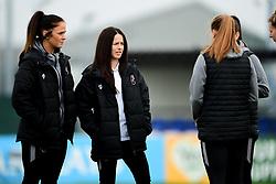Kirsten Reilly, Olivia Chance  - Mandatory by-line: Ryan Hiscott/JMP - 24/11/2019 - FOOTBALL - Stoke Gifford Stadium - Bristol, England - Bristol City Women v Manchester City Women - Barclays FA Women's Super League