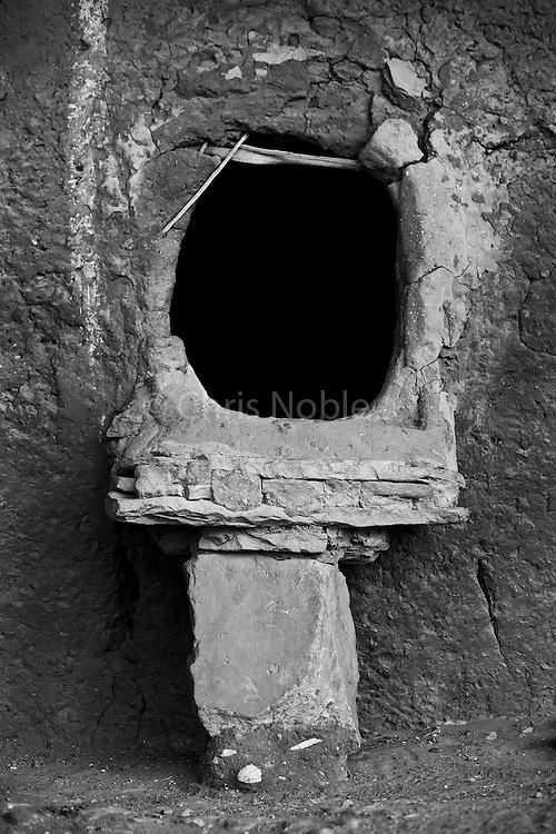 Entry to an Ancestral Puebloan (Anasazi) ruin on Cedar Mesa in Southern Utah.