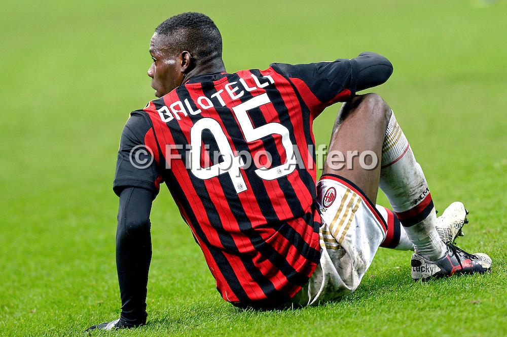 &copy; Filippo Alfero<br /> Inter-Milan - Serie A 2013/2014<br /> Milano, 22/12/2013<br /> sport calcio<br /> Nella foto: