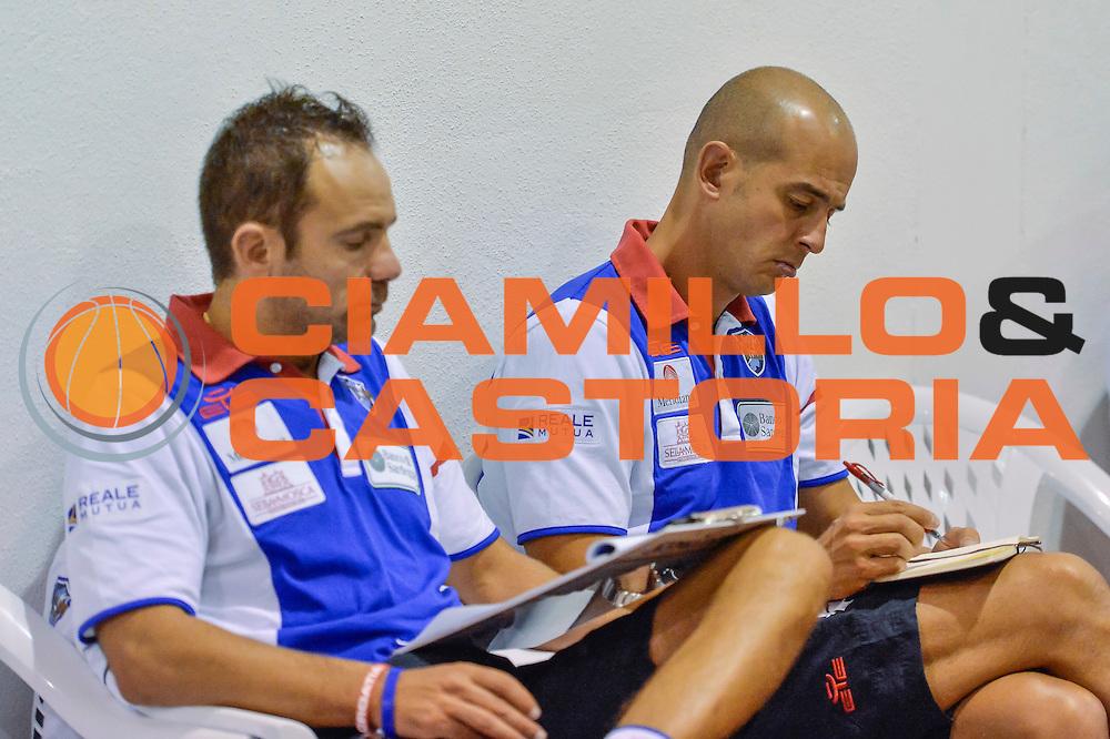 Paolo Citrini, Giacomo Baioni<br /> Banco di Sardegna Dinamo Sassari - Sidigas Scandone Avellino<br /> Precampionato 2016/2017<br /> Padru 07/09/2016<br /> Foto Ciamillo-Castoria