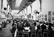 Opening of Kilkenny Design Workshop. General view of the Banquet Hall at Kilkenny Castle..15.11.1965