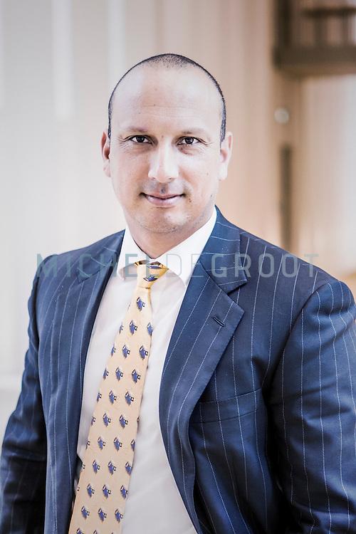 Tjark Tjin-A-Tsoi, algemeen directeur van het Nederlands Forensisch Insitituut (NFI) in Den Haag