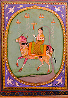 République d'Irlande, Dublin, le musée Chester Beatty, Shiva chevauchant un taureau composite, Lucknow, Inde, 1780 // Republic of Ireland, Dublin, Chester Beatty Museum at the castle garden, Shiva riding a composite Bull, Lucknow, India, 1780