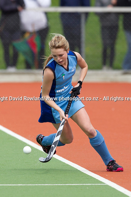 Northland`s Samantha Polovnikoff in the Auckland v Northern Women`s Final match, Ford National Hockey League, North Harbour Hockey Stadium, Auckland, New Zealand,Sunday, September 14, 2014. Photo: David Rowland/Photosport