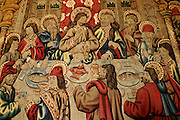"An interpretation of ""The Last Supper"" in a Palermo church, Sicily, Italy. (Supporting image from the project Hungry Planet: What the World Eats.)"