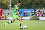 Forest Green Rovers Liam Shephard(2) during the EFL Sky Bet League 2 match between Forest Green Rovers and Crawley Town at the New Lawn, Forest Green, United Kingdom on 5 October 2019.