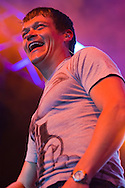 ORLANDO, FL -  MARCH 27: Brad Arnold of 3 Doors Down performs in concert at Universal Orlando Resort March 27, 2010, in Orlando, Florida. The group was performing as part of the Mardi Gras concert series. (Photo by Matt Stroshane/Getty Images) *** Brad Arnold