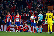 Antoine Griezmann of Atletico de Madrid celebrates the goal during the UEFA Champions League, Group A football match between Atletico de Madrid and AS Monaco on November 28, 2018 at Wanda Motropolitano stadium in Madrid, Spain - Photo Oscar J Barroso / Spain ProSportsImages / DPPI / ProSportsImages / DPPI