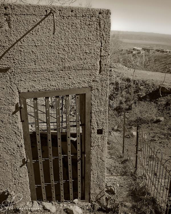 The sliding jail - Jerome, AZ