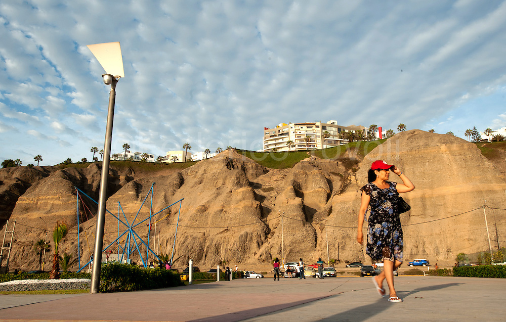 Barranco. The waterfront of Barranco is called Costa Verde