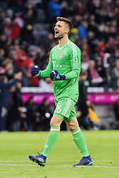31.03.2018, Allianz Arena, Muenchen, GER, 1. FBL, FC Bayern Muenchen vs Borussia Dortmund, 28. Runde, im Bild Torwart Sven Ulreich (FC Bayern Muenchen) // during the German Bundesliga 28th round match between FC Bayern Munich and Borussia Dortmund at the Allianz Arena in Muenchen, Germany on 2018/03/31. EXPA Pictures © 2018, PhotoCredit: EXPA/ Eibner-Pressefoto/ Stuetzle<br /> <br /> *****ATTENTION - OUT of GER*****
