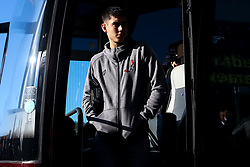 Callum O'Dowda of Bristol City arrives at Cardiff City - Mandatory by-line: Robbie Stephenson/JMP - 10/11/2019 -  FOOTBALL - Cardiff City Stadium - Cardiff, Wales -  Cardiff City v Bristol City - Sky Bet Championship