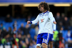 David Luiz of Chelsea warms up - Mandatory by-line: Jason Brown/JMP - 26/12/2016 - FOOTBALL - Stamford Bridge - London, England - Chelsea v Bournemouth - Premier League