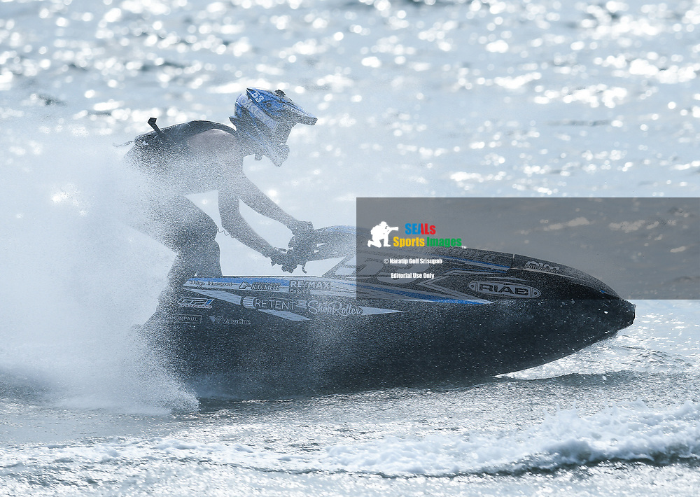 iPATTAYA, THAILAND - DECEMBER 09: Marten Manni (53) of Estonia and Freetime Racing in action during the Pro Ski Grandprix Moto4 at the Thai Airways International Jet Ski World Cup 2018, Jomtien Beach, Pattaya, Thailand on December 09, 2018. <br /> .<br /> .<br /> .<br /> (Photo by: Naratip Golf Srisupab/SEALs Sports Images)<br /> .<br /> Any image use must include a mandatory credit line adjacent to the content which should read: Naratip Golf Srisupab/SEALs Sports Images