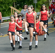 Dancers from Fitzpatrick School of Irish Dance perform during the Middletown Township 4th of July Independence Day Parade Monday July 4, 2016 in Middletown Township, Pennsylvania. (Photo by William Thomas Cain)