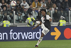 May 19, 2019 - Turin, Piedmont, Italy - Juan Cuadrado (Juventus FC) during the Serie A football match between Juventus FC and Atalanta BC at Allianz Stadium on May 19, 2019 in Turin, Italy. (Credit Image: © Massimiliano Ferraro/NurPhoto via ZUMA Press)