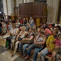 Famiglie sgomberate rifugiate nella basilica di S. Maria Maggiore