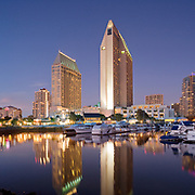 Martinez Cutri Architects, Manchester Grand Hyatt, Grand Hyatt, San Diego California, Berger ABAM Engineers, Hospitality Design, Hotel Design, Interior Design, San Diego Harbor, Marina District, San Diego Convention Center, San Diego Architectural Photographer, Southern California Architectural Photographer