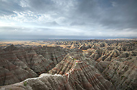 Big Badlands Overlook. Badlands National Park South Dakota