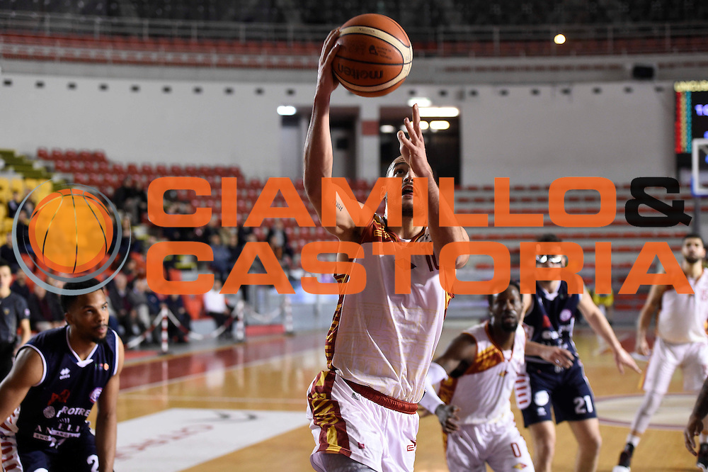 Massimo Chessa<br /> Unicusano Roma - Angelico Biella<br /> Campionato Basket LNP 2016/2017<br /> Roma 29/01/2017<br /> Foto Ciamillo-Castoria