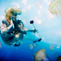"""Underwater photography, the first of my experimental Underwater Art series, """"Undercurrents"""""""