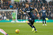 Leeds United midfielder Mateusz Klich (43)  during the EFL Sky Bet Championship match between Stoke City and Leeds United at the Bet365 Stadium, Stoke-on-Trent, England on 19 January 2019.