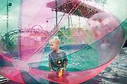 SYRACUSE, NY – SEPTEMBER 10, 2010: A scene at the New York State Fair.