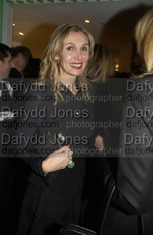 Allegra Hicks. Launch dinner for Island Beauty by India Hicks hosted by Charles Finch and Harvey Nichols Fifth Floor Restaurant. London. .  14  November 2005 . ONE TIME USE ONLY - DO NOT ARCHIVE © Copyright Photograph by Dafydd Jones 66 Stockwell Park Rd. London SW9 0DA Tel 020 7733 0108 www.dafjones.com
